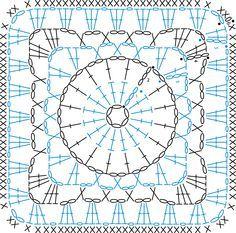 granny square pattern - Google-søgning                                                                                                                                                                                 もっと見る