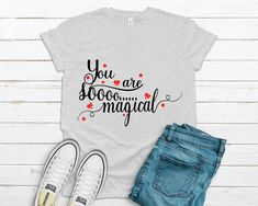 You are sooo magical Svg,  Svg Files For Cricut, Silhouette svg, Inspirational Svg, Instant Download, Quote Svg, Saying Svg, Cricut Designs Angel Silhouette, T Shirt Transfers, Silhouette Designer Edition, Svg Files For Cricut, Cricut Design, Cutting Files, To My Daughter, Quote, Inspirational