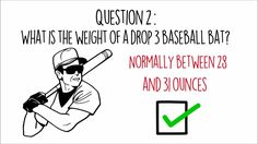 Want to learn all about drop 3 baseball bats as you head into the 2017 season?  Take a quick look at this video!