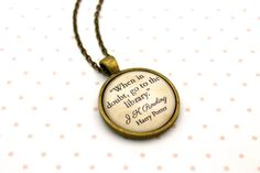 Harry Potter Hermione 'When In Doubt Go To The by LiteraryGifting