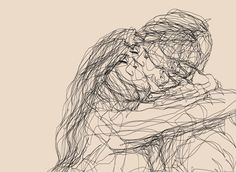 """1000drawings: """"by Sophie Schultz """""""