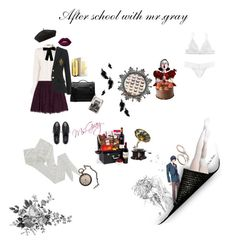 """After school with my boy"" by fmsgray ❤ liked on Polyvore featuring HYD, Alexander McQueen, Alice + Olivia, Accessorize, Mulberry, Nine West, Lime Crime, Capezio Dance, Carolina Herrera and Monki"