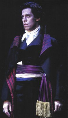 SP1: Terrence Mann as Chauvelin    Photo by Joan Marcus