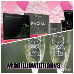 Body wraps, facial wraps , and hair skin and nails, we have a product for every part of your body, checkout my website for other great products. Sign up for free and get it at my discounted price www.fitupwithtanya.com