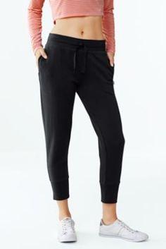 fa3a4fa81f8c Women s Activewear Crop Sweatpants.  LandsEndLove Mom Outfits