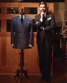 Mr Patrick Grant of E-Tuatz and Norton & Sons, both of Saville Row
