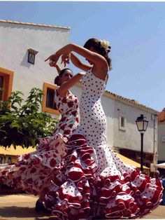 Flamenco - los 4 bailes