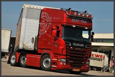 Scania V8 Topline
