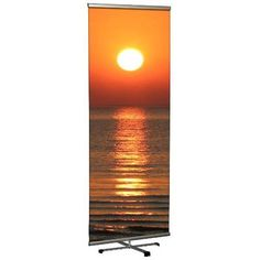 MT Displays Freestanding Cross Single Banner Stand Size: H x Tri Fold Poster, Pop Up Frame, Retractable Banner, Display Panel, Banner Stands, Visual Communication, Carry On Bag, In The Heights, Public Spaces