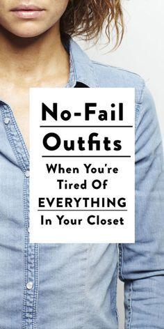 No fail outfits