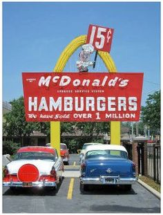 Mc Donalds was #5 built in Alhambra ca.  https://www.facebook.com/ILoveAlhambra?ref=hl