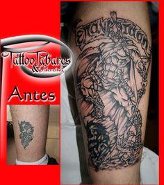 #Tattoo #CoverTattoo #Tabares www.tattootabares.es
