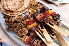 Grilled Beef Kebabs Ready in Under a Hour