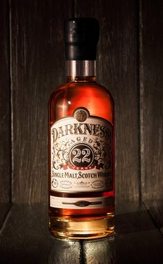 Darkness Whiskey by Ginger Monkey