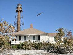 Sanibel Island Lighthouse, Florida at Lighthousefriends.com