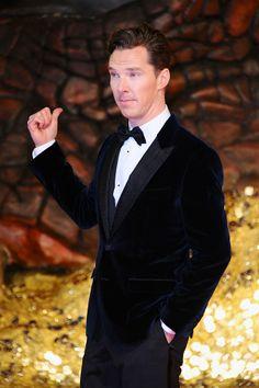 Benedict Cumberbatch the Hobbit europe premiere