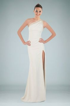 chic-oneshoulder-sheath-evening-gown-enhanced-with-laceup-back-and-slit