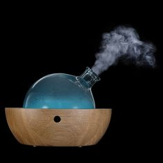 Yun Aroma Diffuser // healing diffuser balances the mind, body, and spirit by engaging the senses with gently diffused essentials oil