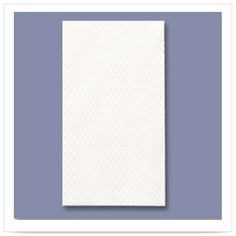 13 x 17 White Guest Towel 2 Ply 1/6 Fold/Case of 1000