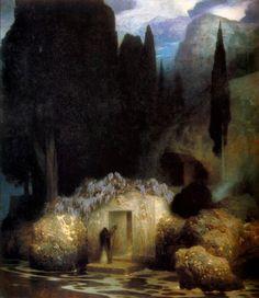 Ferdinand Keller, Böcklin's Tomb (1901)