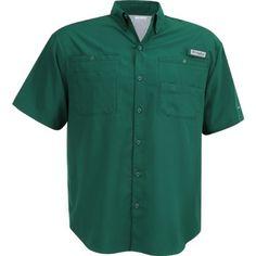 Columbia Sportswear Men's Tamiami II Shirt (Green Dark 04, Size Medium) - Men's Outdoor Apparel, Men's Fishing Tops at Academy Sports