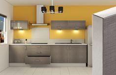 Nouvelle collection Loft, une cuisine chaleureuse effet tissé