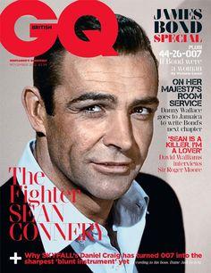 Sean Connery - British GQ - James Bond #007