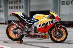 Marquez' Honda, Sepang MotoGP test, February 2017