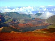 Haleakala Crater, Hawaii, United States