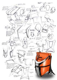 otter bag - bag design
