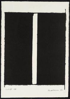 Barnett Newman Canto III, 1963-4