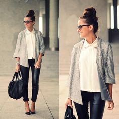 ec36dfc1a05a Duet Black and White Sequin Jacket
