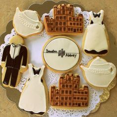 Downtown Abbey Party {adult party ideas}  @Shannon Michelle