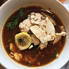 Panera Lentil Quinoa Broth Bowl with Chicken