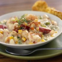 Easy Stove Top Creamy Fish Chowder