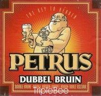 Label van Petrus Dubbel Bruin