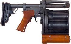 Arsenal Lavina grenade launcher Manufactured by... - Gun & Fez & Waffle