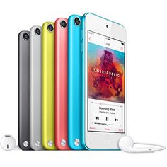 Walmart: Apple iPod Touch Generation (Choose Your Color in or with Bonus Accessory Kit Ipod 5, Ipod Cases, Ipod Touch 5th Generation, Ipod Classic, Apple Model, Buy Apple, Multi Touch, Apple Products, Technology