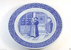 Vintage Plate Mors Dag 1971 Mother's Day Sweden Rorstrand Carl Larsson AZ
