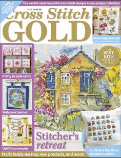 Cross Stitch Gold, August 2013, issue 104.