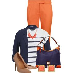 Bright Pants and a Blazer for Spring Set 2 #PolyvorePlus