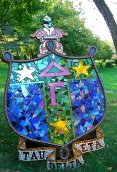 i love stained glass! @Ryan Green, think that lady from the nursing home would help us make this?
