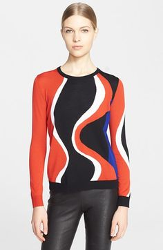 Alexander McQueen Crewneck Sweater available at #Nordstrom