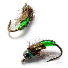 Little Green Caddis Pupa Mothers Day Caddis slayer!!!! Use it all summer as it also doubles for any green caddis seen swimming in a river near you.