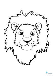 100 Dibujos Para Colorear Mas De 100 Dibujos Para Colorear Divididos Por Temas Dibujos De Paginas Para Colorear De Animales Leon Para Colorear Artesania Leon
