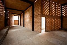 En Detalle: Celosía de Blocks / Refugio Ruta del Peregrino, Luis Aldrete (3)