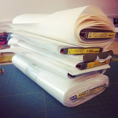 Sewing with interfacing - a guide.  What interfacing to use