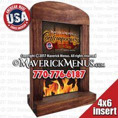 18 best rustic wooden table tents maverickmenus com images in 2019 rh pinterest com