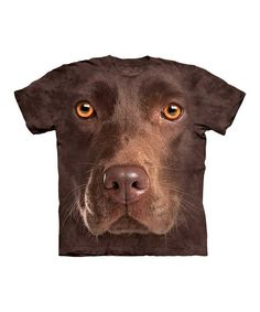 Boasting a larger than life canine countenance, this slobber-free tee is ready to chase squirrels, beg for treats and brighten a lucky kid's day with its comfy all-cotton feel and easy fit.100% cottonMachine wash; tumble dryMade in the USA   Assembled in Honduras