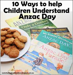 10 Ways to help Children Understand Anzac Day *Has 'Postcards to the Troops' details for chn to send letters to Australian soldiers.